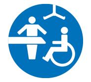 Changing Places toilet symbol