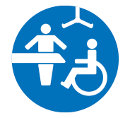 Changing Places toilet symbol