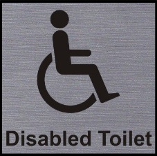 Accessible Toilet Signs What They Mean The World Of