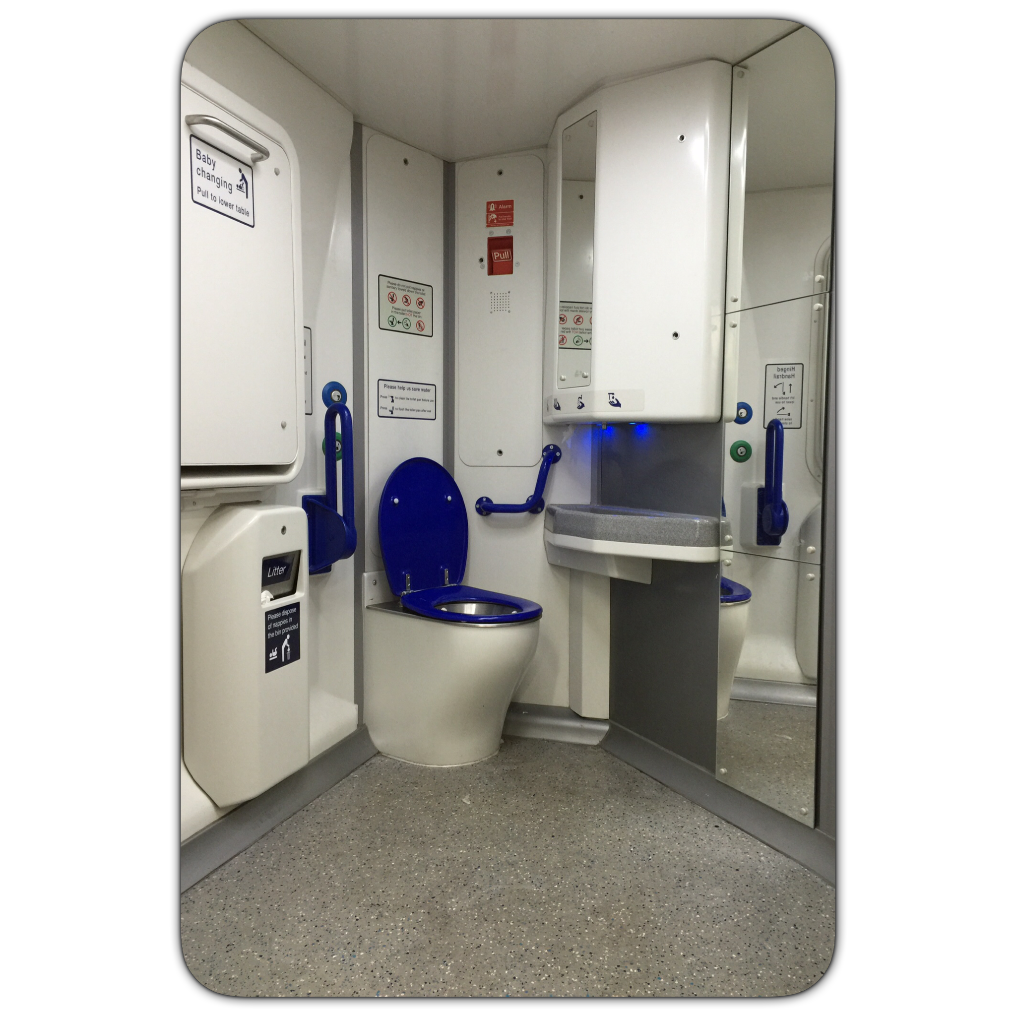 If I needed the loo I d have to get staff to cancel the ramp at my  destination  and make new arrangements for me to. Stories   The world of accessible toilets